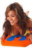 ブギー ボード赤ん坊 5 — ストック写真