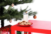 Milk and Cookies — Stock Photo