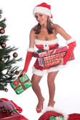 Sexy Mrs Claus — Stock Photo