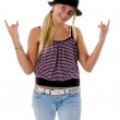 Rawk ON Party Girl! — Stock Photo #6875373