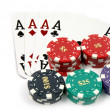 All In Aces — Stock Photo