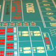 Craps Table BG 2 — Stock Photo