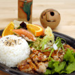 Teriyaki Chicken Plate — Stock Photo #6897370