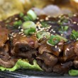Stock Photo: Beef TeriYaki