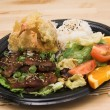 Stock Photo: MisoYaki Pork Combo Plate