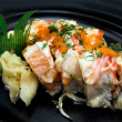 Crazy Eddie Sushi Roll - Stockfoto
