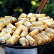Egg Rolls - Stock Photo