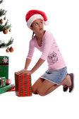 Christmas Sneak — Stock Photo