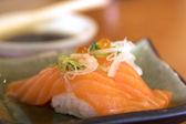 サーモン寿司 — ストック写真