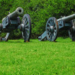 Civil War Canons — Foto de Stock