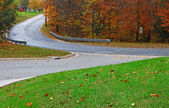 An intersecting roadway — Stock Photo