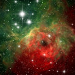 Colorful space nebula — Stock Photo