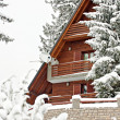 Tourist accomodation appartment house for winter holydays — Stock Photo #7556555