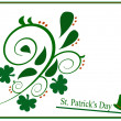 Saint Patrick Day shape — Stock Photo
