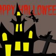 Halloween fright castle — Foto de Stock