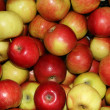 Fresh apples group — Stock Photo