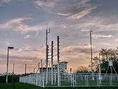 Meteorological station — Stock Photo