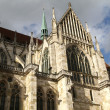 Stock Photo: Architecture of Cathedral of Regensburg