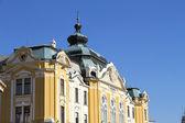 Edifício histórico de pécs — Foto Stock
