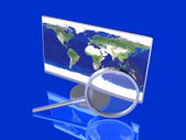 Global Search — Stock Photo