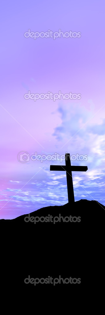 3D Illustration. Symbol of Christianity. — Stock Photo #6936123