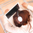 Sleeping on the Laptop — Stock Photo #7483610