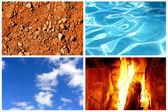Four elements — Foto de Stock
