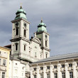 Historic building in the center of Linz — Stock Photo