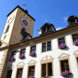 Historic building in Regensburg - Stock Photo