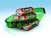 Rechargable Batteries — Stock Photo