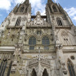 Cathedral of Regensburg - Stock Photo
