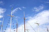Masts in Parati — Stock Photo