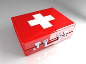 случай оказания первой помощи — Стоковое фото