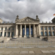 The Reichstags Building in Berlin - Stock Photo