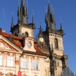 Teyn Church in Praha — Stock Photo