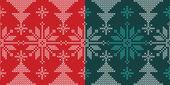 Wakacje ornament ozdoba ze śniegu i święta drzewa — Wektor stockowy