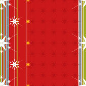 Christmas pattern with stars, vector. — Stock Vector