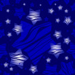 Holidays christmas pattern with stars, vector. — Stock Vector