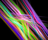 Abstract rainbow fractal background — Stock Photo
