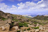 Widok z pikes peak — Zdjęcie stockowe