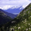 View of Skagway Alaska — Stock Photo