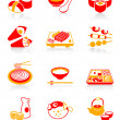 Japanese sushi-bar icons | JUICY series — Stock Vector #6756028