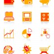 Money matters icons | JUICY series — Stock Vector
