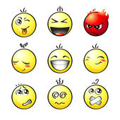 Smileys | Set 1 — Stock Vector