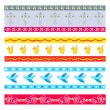 Easter patterns — Stock Vector #6798683