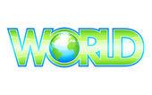 Nuestro mundo verde — Vector de stock