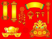 Chinese New Year decoration — Stock Vector