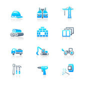 Construction icons | MARINE series — Cтоковый вектор