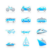 Transportation icons | MARINE series — Stock Vector