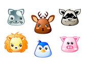 Cute animals | Set 3 — Stock Vector